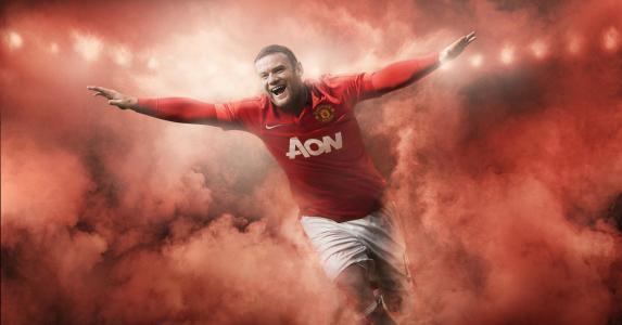 鲁尼,足球运动员,曼联,5K