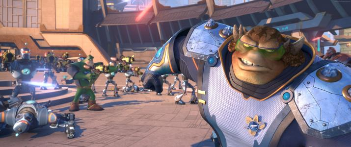 Ratchet & Clank, monster, best animation movies of 2016 (horizontal)