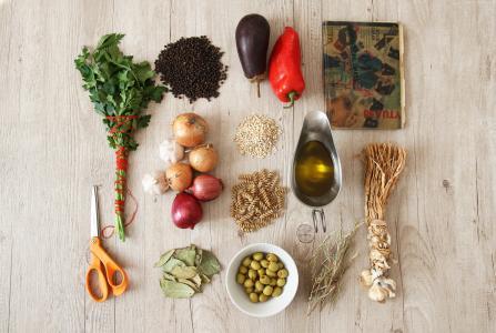 食物,静物,蔬菜(水平)