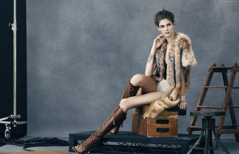 肯德拉·斯皮尔斯,顶级时装模特,模特(水平)