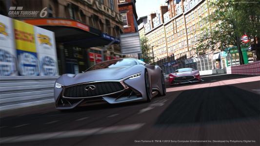 英菲尼迪,4k,高清壁纸,视觉,Gran Turismo,概念,金属,亚光(水平)