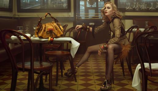 麦当娜,最受欢迎明星,歌手,女演员(横向)