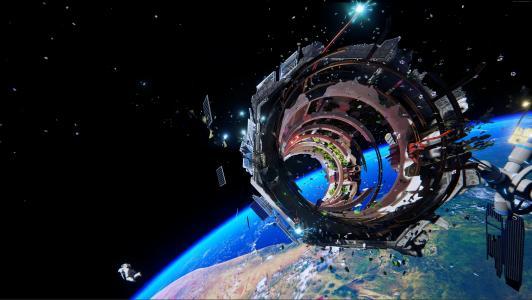 ADR1FT,2015,游戏,空间,星球,宇宙飞船,星星,地球,截图,PS4,XBox,PC,4k,5k(水平)