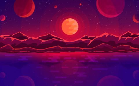 日落行星HD