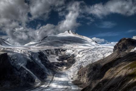 阿尔卑斯山,4k,高清壁纸,山,旅游,旅游,雪,云(水平)