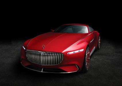 愿景梅赛德斯 - 迈巴赫6,跑车,概念车,奔驰,4K