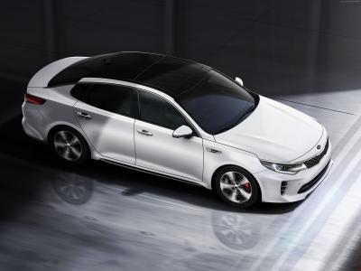 起亚Optima GT,超级跑车,白色,豪华车,跑车,试驾(卧式)