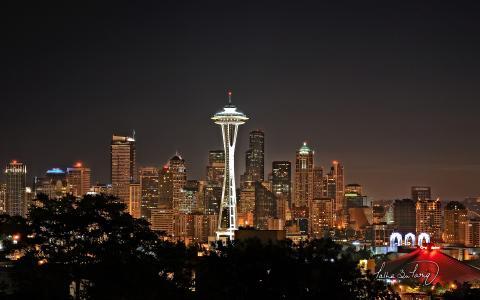 壮观的西雅图