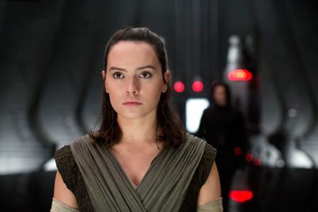"Rey,Daisy Ridley,""星球大战:最后的绝地"",2017"