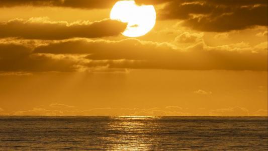 唯美夕阳风光