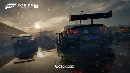 极限竞速7,4k,E3 2017,Xbox One X(水平)