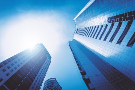 摩天大楼,架构,迪拜,城市景观,天际线,现代,4 k