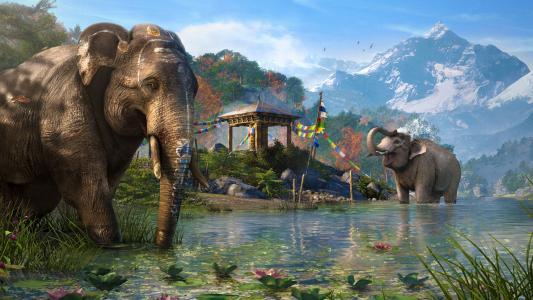 孤岛惊魂4大象