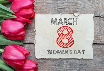 妇女节,3月8日,4K