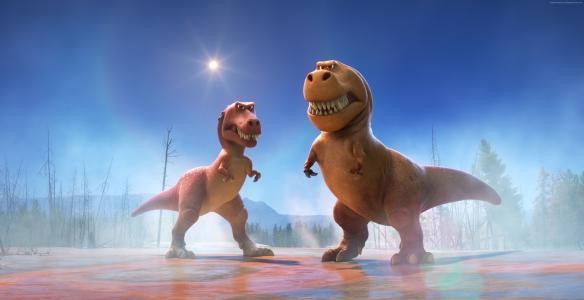 好恐龙,恐龙,霸王龙,皮克斯(水平)