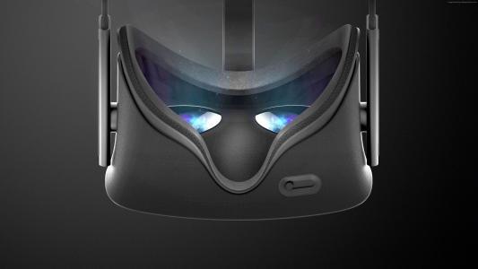 Oculus Rift,虚拟现实,VR耳机,3D。