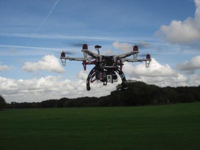 DJI FLAMEWHEEL F550,无人驾驶飞机,四轴飞行器,日落,审查,拆箱,测试(水平)