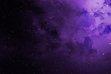 星星,紫色,宇宙,高清