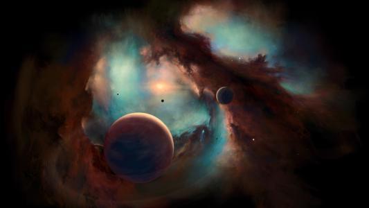 星云,行星,5K