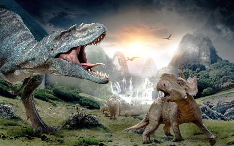 走与恐龙3D