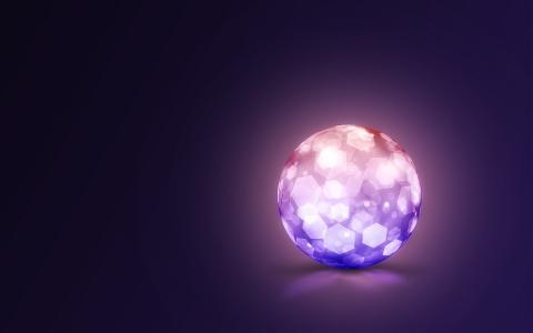 水晶闪电球5K