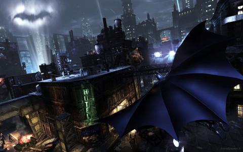 蝙蝠侠阿甘市