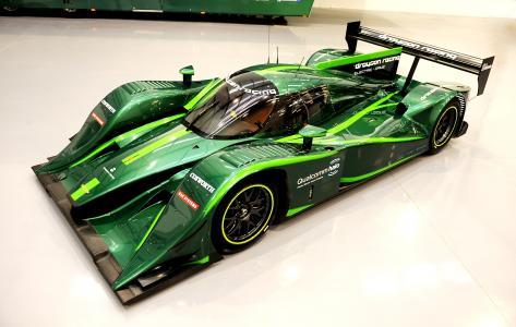 Lola-Drayson B12 69EV,2015电动车,跑车,电动车,绿色,环保(水平)