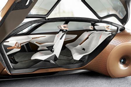宝马Vision未来100,未来汽车,内饰(卧式)