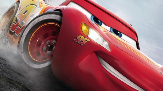 汽车3,5k,闪电McQueen,海报(水平)
