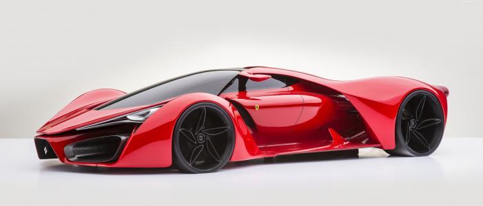 法拉利LaFerrari,5k,4k壁纸,混合动力,跑车,概念,法拉利,超级跑车,F150,F70,限量版(水平)