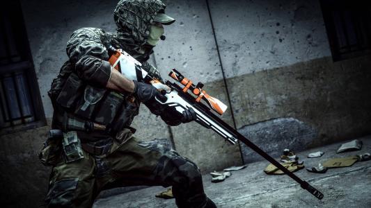 战地4,侦察,狙击手,8K