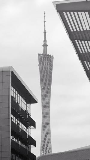 优美迷人的广州塔