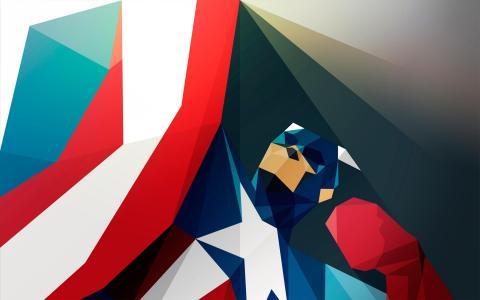 美国队长,卡通,图稿,高清