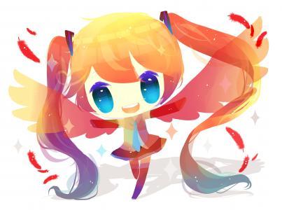 动漫女孩,Vocaloid,4 k