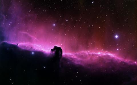 马头星云,HD(水平)