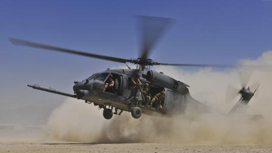 西科斯基UH-60黑鹰直升机美国空军(水平)