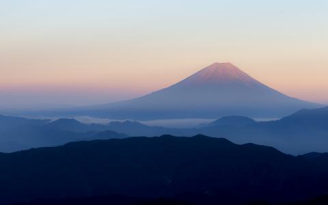 富士山日本4K
