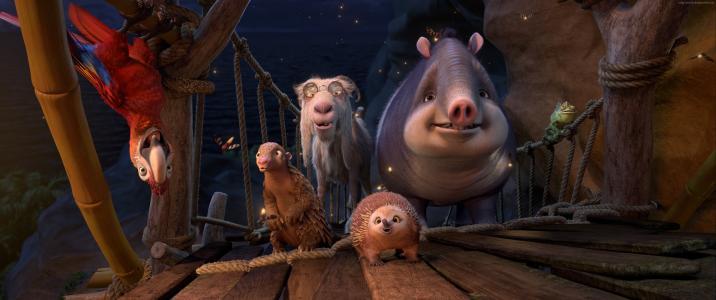 鲁宾逊漂流记,鹦鹉,山羊,刺猬,最佳动画电影,卡通(水平)