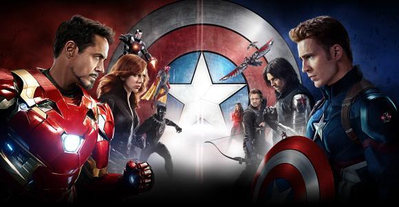 美国队长,内战,2016年电影,4K,5K
