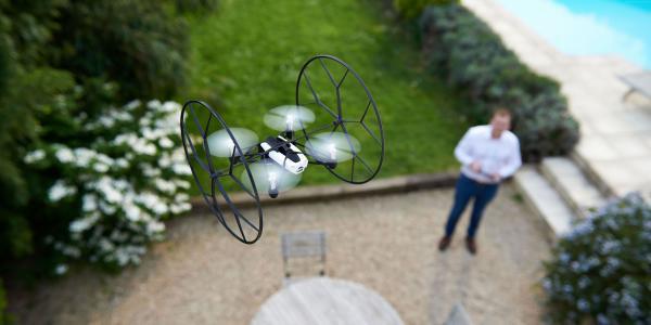 滚动蜘蛛,鹦鹉,MiniDrone,无人机,审查,飞行,测试,拆箱(水平)