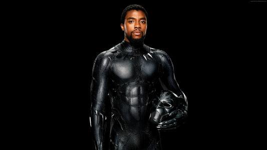 黑豹,Chadwick Boseman,4k(水平)