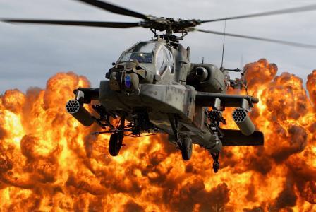 阿帕奇AH-64,攻击直升机,美国陆军,美国空军(水平)