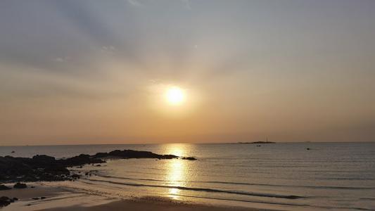 清晨日出优美景色