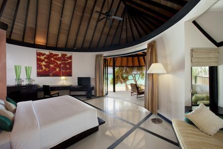 Sun Siyam Iru Fushi,2015年度最佳酒店,旅游,度假,度假,床,房间(卧式)
