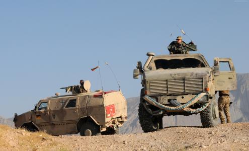 ATF Dingo,KMW,步兵机动车,MPPV PC,士兵,阿富汗国防军(横向)
