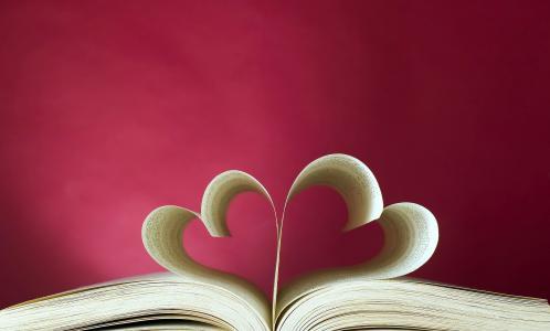 爱的心,书,5K