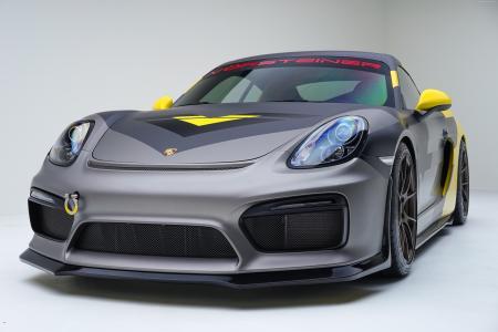 保时捷Cayman GT4,Vorsteiner调音,跑车(水平)