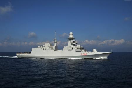Carlo Bergamini,护卫舰,意大利海军,FREMM,F 590,意大利(水平)