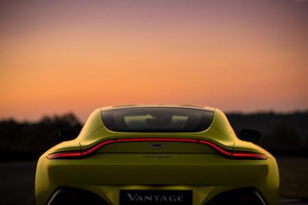 阿斯顿马丁Vantage,2018年汽车,5k(水平)