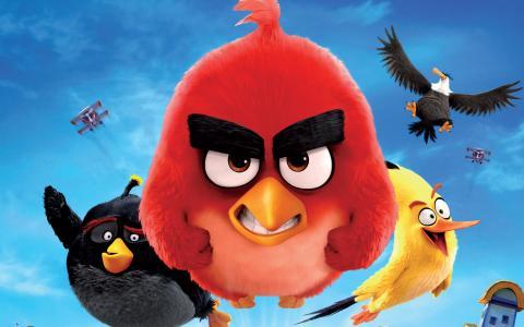 2016愤怒的小鸟电影